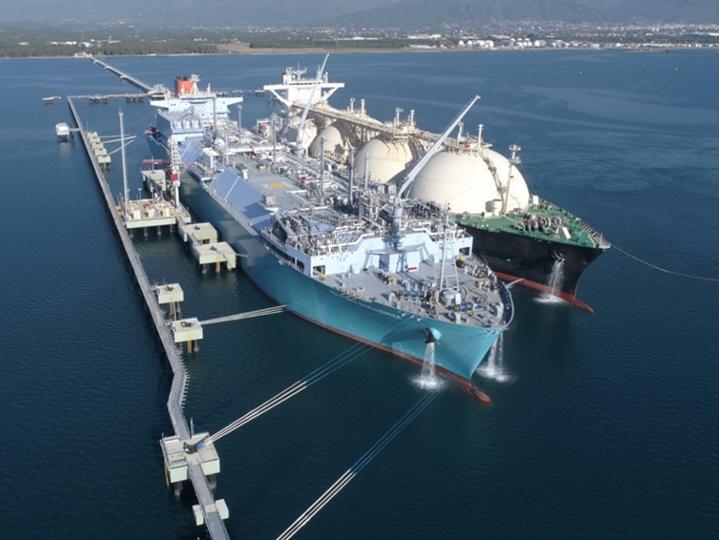 LNG Vessel slider